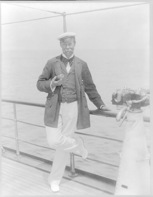 """A-yachting we will go…..it was serial challenger Thomas Lipton who coined the phrase """"The Auld Mug"""" for the America's Cup as he developed its commercial attraction."""