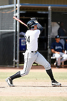 Trayce Thompson - Chicago White Sox 2009 Instructional League .Photo by:  Bill Mitchell/Four Seam Images..
