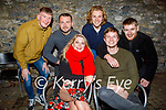 Sarah Cleary from Mounthawk and Brian O'Callaghan from the Spa celebrating their birthdays in Benners Hotel on Saturday. Seated: Sarah Cleary and Brian O'Callaghan. Back l to r: Eamon Flynn, Eric Bohan, Greg Switzer and Kevin Rolls.