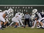 Football at Fenway Park