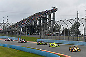 Verizon IndyCar Series<br /> IndyCar Grand Prix at the Glen<br /> Watkins Glen International, Watkins Glen, NY USA<br /> Sunday 3 September 2017<br /> Ryan Hunter-Reay, Andretti Autosport Honda, Simon Pagenaud, Team Penske Chevrolet<br /> World Copyright: Scott R LePage<br /> LAT Images<br /> ref: Digital Image lepage-170903-wg-8479