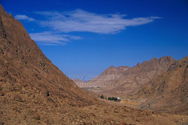 St. Catherine's monastery, Sinai, Red Sea, Egypt, Oktober 1997