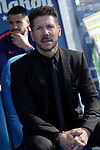 Atletico de Madrid's coach Diego Pablo Cholo Simeone during La Liga match. November 3,2018. (ALTERPHOTOS/Acero)