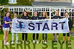 Ballybunion 10k Run:Picyured prior to the statr of the Ballybunion 10k virtual run on Saturday last were Clodagh O'Loughlan, Anna Hook, Briannagh O'Connor, Aine O'Sullivan, Amy Pollmann & Roisi & Anne Cummings.