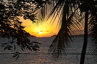Sunset from Gallows Point Resort<br />