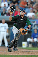 South Bend Silver Hawks catcher Tyson Van Winkle during a game vs. the West Michigan Whitecaps at Fifth Third Field in Comstock Park, Michigan August 16, 2010.   West Michigan defeated South Bend 3-2.  Photo By Mike Janes/Four Seam Images