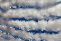 Strange Cloud Fomations September 10, 2011, in La Quinta California Stock photos of strange cloud formation