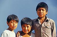 Kinder in Pátzcuaro, Mexiko, Nordamerika