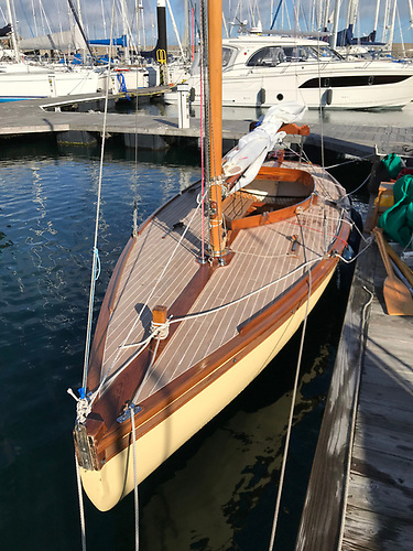 """""""Better than new"""" – Waverley with her new deck by Ricky le Boas of Ardglass"""