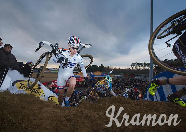 current World Cup leader Lars van der Haar (NLD)<br /> <br /> UCI Worldcup Heusden-Zolder Limburg 2013