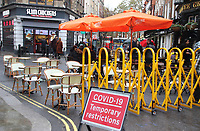 OCT 26 London's Alfresco Dining Due to End