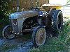 The 1953 Massey Ferguson tractor used on a small family owned farm in the village of Llanafan which is in the county of Ceredigion, West Wales. The village is situated on the north side of the  beautiful Ystwyth Valley and the river eventually flows into the sea at the seaside town of Aberystwyth. Haymaking for this farm is an important time and is dependant on the weather. When its good enough and the grass is cut it is left to dry and then collected as in these photos. Local people come and help to ensure all the hay is brought in and stored in the barn.<br />