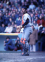 New York Yankees Thurmon Munson(15) in action during a game from his career.  Thurmon Munson played for 11 years all with the Yankees,  was a 7-time All-Star and won the Rookie of the Year in 1970 and American League MVP in 1976David Durochik/SportPics