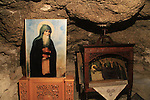 The cave of St. Theodosius at the Greek Orthodox Monastery of St. Theodosius