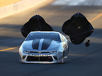 Jul 28, 2017; Sonoma, CA, USA; NHRA pro stock driver Chris McGaha during qualifying for the Sonoma Nationals at Sonoma Raceway. Mandatory Credit: Mark J. Rebilas-USA TODAY Sports