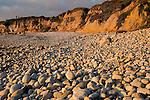 September sunset over Pescadero State Beach, Pescadero, California