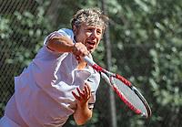 Hilversum, The Netherlands, September 2, 2018,  Tulip Tennis Center, NKS, National Championships Seniors, Men's 55+ final: Erik Annega (NED) <br /> Photo: Tennisimages/Henk Koster