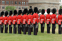 Ottawa (ON) CANADA, July 1st, 2007 -<br /> <br /> The<br /> Black Watch regiment<br /> <br /> parade near the Parliament during<br /> Canada day celebration in the national capital.<br /> photo : (c)  Michel Karpoff - Images Distribution