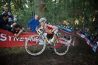 Laurens Sweeck (BEL/Corendon-Kwadro) in the lead<br /> <br /> GP Neerpelt 2014