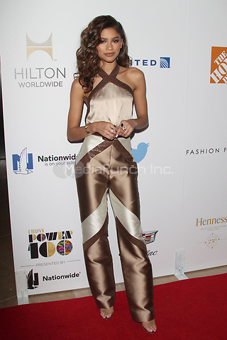 LOS ANGELES, CA - DECEMBER 2: Zendaya pictured at the 2015 Ebony Power 100 Gala in Los Angeles, California on December 2, 2015. Credit: mpi21/MediaPunch