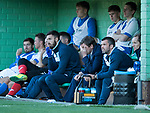 FK Trakai v St Johnstone…06.07.17… Europa League 1st Qualifying Round 2nd Leg, Vilnius, Lithuania.<br />Tommy Wright reacts as his side go 1-0 down<br />Picture by Graeme Hart.<br />Copyright Perthshire Picture Agency<br />Tel: 01738 623350  Mobile: 07990 594431