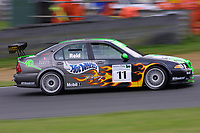 Round 9 of the 2002 British Touring Car Championship. #11 Anthony Reid (GBR). MG Sport & Racing. MG ZS.