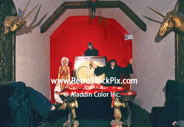 Castle Dracula in Wildwood, NJ 1969 Chamber of Horrors Room