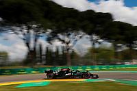 16th April 2021; Autodromo Enzo and Dino Ferrari, Imola, Italy; F1 Grand Prix of Emilia Romagna, Free Practise sessions;  Lewis Hamilton GBR, Mercedes-AMG Petronas F1 Team