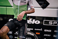 Serge Pauwels (BEL/Dimension Data) warming down post-finish after a hot, dusty day over the cobbles<br /> <br /> Stage 9: Arras Citadelle > Roubaix (154km)<br /> <br /> 105th Tour de France 2018<br /> ©kramon
