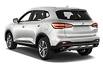 Car pictures of rear three quarter view of 2021 Mg EHS Luxury 5 Door SUV Angular Rear