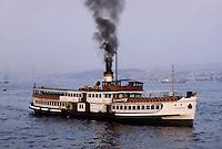- Turkey, Istambul, ferry on Bosphorus <br /> <br /> - Turchia, Istambul, traghetto sul Bosforo