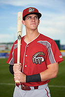 Altoona Curve Kevin Newman (2) poses for a photo before a game against the Binghamton Rumble Ponies on May 17, 2017 at NYSEG Stadium in Binghamton, New York.  Altoona defeated Binghamton 8-6.  (Mike Janes/Four Seam Images)