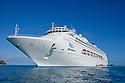 P and O cruise ship Pacific Dawn