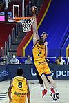 League ACB-ENDESA 2020/2021 - Game: 13.<br /> FC Barcelona Lassa vs Herbalife Gran Canaria: 91-63.<br /> Artem Pustovyi vs Olek Balcerowski.