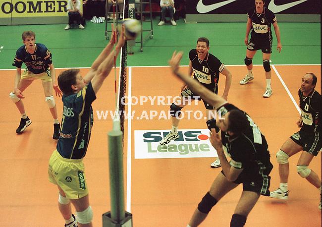 Apeldoorn,23-04-99  Foto:Koos Groenewold <br />Volleybal Dynamo-Vrevok