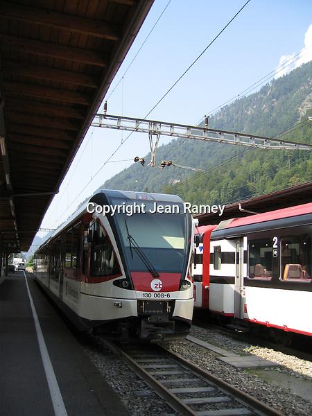 Swiss Alps Train