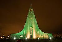 Hallgrims Church (Hallgrimskirkja) in Reykjavik. The church is the highest church in Island.<br /> Hallgrims-Kirche (Hallgrimskirkja) in Reykjavik. Die Kirche ist das groesste Kirchengebaeude Islands.<br /> 17.3.2016, Reykjavik<br /> Copyright: Christian-Ditsch.de<br /> [Inhaltsveraendernde Manipulation des Fotos nur nach ausdruecklicher Genehmigung des Fotografen. Vereinbarungen ueber Abtretung von Persoenlichkeitsrechten/Model Release der abgebildeten Person/Personen liegen nicht vor. NO MODEL RELEASE! Nur fuer Redaktionelle Zwecke. Don't publish without copyright Christian-Ditsch.de, Veroeffentlichung nur mit Fotografennennung, sowie gegen Honorar, MwSt. und Beleg. Konto: I N G - D i B a, IBAN DE58500105175400192269, BIC INGDDEFFXXX, Kontakt: post@christian-ditsch.de<br /> Bei der Bearbeitung der Dateiinformationen darf die Urheberkennzeichnung in den EXIF- und  IPTC-Daten nicht entfernt werden, diese sind in digitalen Medien nach §95c UrhG rechtlich geschuetzt. Der Urhebervermerk wird gemaess §13 UrhG verlangt.]