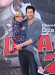 Dylan McDermott and daughter attends The Twentieth Century Fox's How To Train Your Dragon 2 Premiere at The Regency Village in Westwood, California on JUNE 08,2014                                                                               © 2014 Hollywood Press Agency