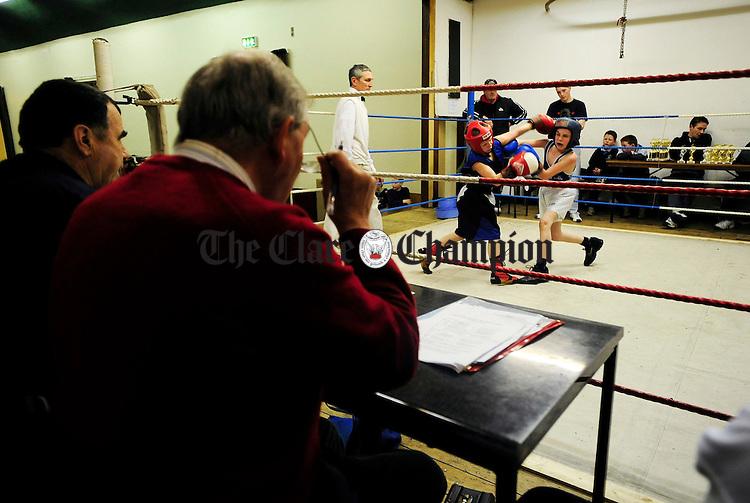 County Boxing Championships at Ennis Boxing Club.Pic Arthur Ellis.