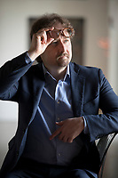 """Telmo Pievani, è professore associato presso il Dipartimento di Biologia dell' Università degli studi di Padova, dove ricopre la prima cattedra italiana di Filosofia ..Fa parte del comitato editoriale di riviste scientifiche internazionali come Evolutionary Biology, Evolution: Education and Outreach[6] e Rendiconti Lincei per le Scienze Fisiche e Naturali. Insieme a Niles Eldredge, è direttore scientifico del progetto enciclopedico """"Il futuro del pianeta"""" di UTET Grandi Opere. Bergamo, 29 Maggio 2021. Photo by Leonardo Cendamo/Getty Images"""
