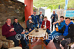 Old friends reunite at Mike Murts Bar in Cahersiveen on Monday's reopening of Outdoor drinking, pictured here l-r; Jack McCarthy, Mike O'Shea, Eddie Clifford, Mike O'Connell, Michael Murphy, Jim O'Sullivan, Paul Murphy, Mike Sugrue & Pa O'Donoghue.