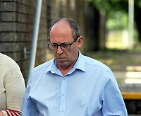 Pictured: Robert Davies Hughes outside Llanelli Magistrates Court. Thursday 15 June 2017<br /> Re: 61 year old Robert Davies Hughes, from Carmarthenshire, has appeared before Llanelli Magistrates Court, charged with nine offences of indecent assault and three offences of attempted indecent assault in Carmarthen and Hereford.<br /> Another man and two women will appear in court at a later date, following an investigation into alleged historical child abuse in Carmarthenshire.<br /> The abuse is alleged to have taken place at Rhydygors School between 1976-1986, and Cartref-Y-Gelli children's home between 1986 and 1990.<br /> It comes after Dyfed Powys Police's investigation into the allegations, Operation Almond, concluded.