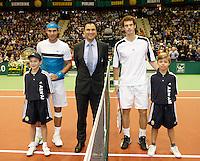 15-2-09,Rotterdam,ABNAMROWTT, Playersescort Andy Murray Rafael Nadal