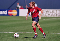 Giants Stadium, East Rutherford, New Jersey - June 19, 1999; FIFA Women's World Cup 1999. USA 3 - Denmark 0.