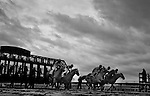 April 3, 2015:Scenes from around the track on Opening Day of the Spring Meet on Bluegrass Stakes Weekend at Keeneland Race Course in Lexington, Kentucky. (NOTE: This image was photographed using a infrared converted sensor.) Scott Serio/CSM