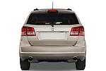 Straight rear view of a 2009 Dodge journey rt