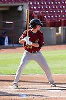 Quad Cities River Bandits outfielder Drew Ferguson (44) at bat during a Midwest League game against the Wisconsin Timber Rattlers on July 17th, 2015 at Fox Cities Stadium in Appleton, Wisconsin. Quad Cities defeated Wisconsin 4-2. (Brad Krause/Four Seam Images)