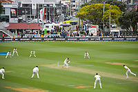 Action from day three of the second International Test Cricket match between the New Zealand Black Caps and West Indies at the Basin Reserve in Wellington, New Zealand on Sunday, 13 December 2020. Photo: Dave Lintott / lintottphoto.co.nz