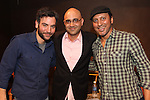 Disgraced Playwright Ayad Akhtar, Josh Radnor and Aasif Mandvi at The Drama Bookshop  1/22/15