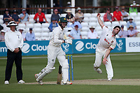 Ryan ten Doeschate in bowling action for Essex during Essex CCC vs Nottinghamshire CCC, LV Insurance County Championship Group 1 Cricket at The Cloudfm County Ground on 3rd June 2021
